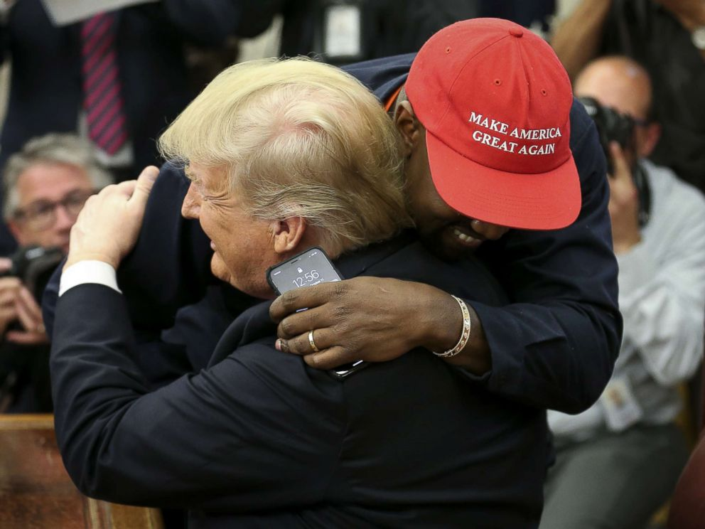 Image result for trump kanye