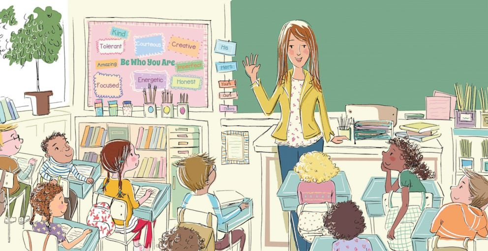 PHOTO: Illustrations by Joanne Lew Vriethoff from Abby Huntsmans new book Who Will I Be?