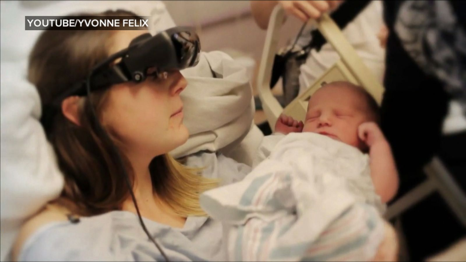 Blind Mom-To-Be Sees Baby For The First Time