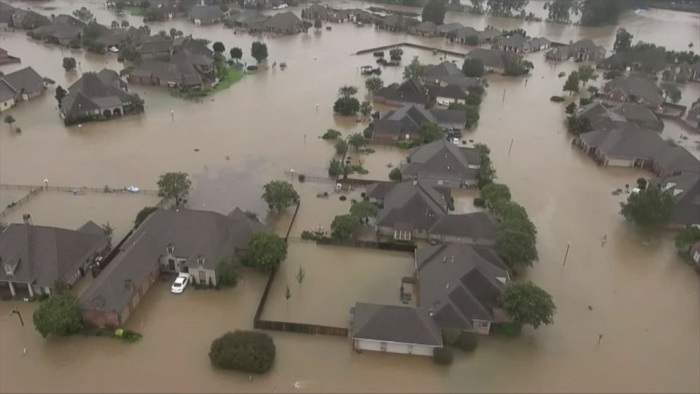 What to know about floodwater safety as torrential rain slams Houston area
