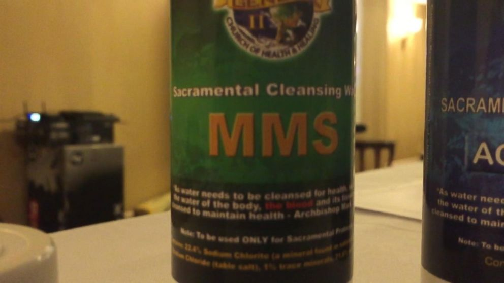 Diluted Bleach Mixture Touted As >> Potentially Toxic Miracle Cure Touted By Fringe Church Is Back