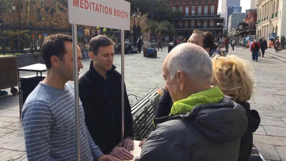 10% Happier Road Trip: Teaching Tourists How to Meditate in New Orleans