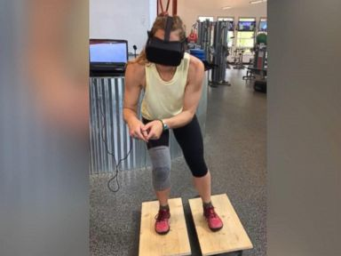 WATCH: Olympians use VR to train for 2018 Winter Games