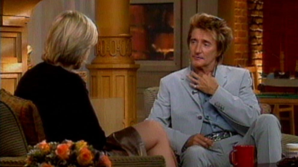 VIDEO: Feb. 7, 2001: Rod Stewart opens up to Diane Sawyer about thyroid cancer diagnosis