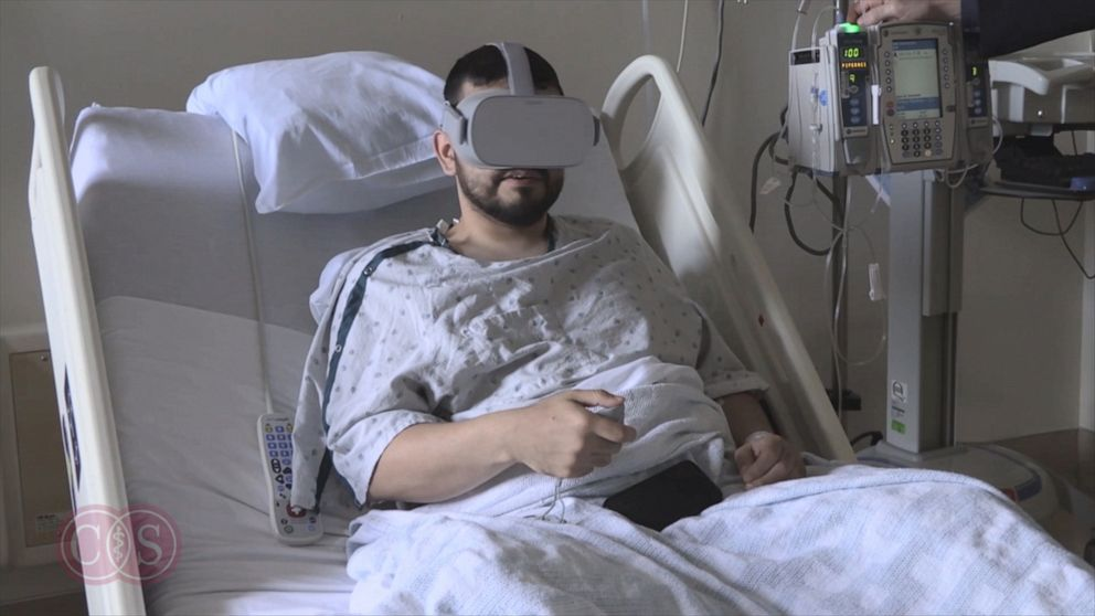 Virtual reality may mean real pain relief for hospitalized patients