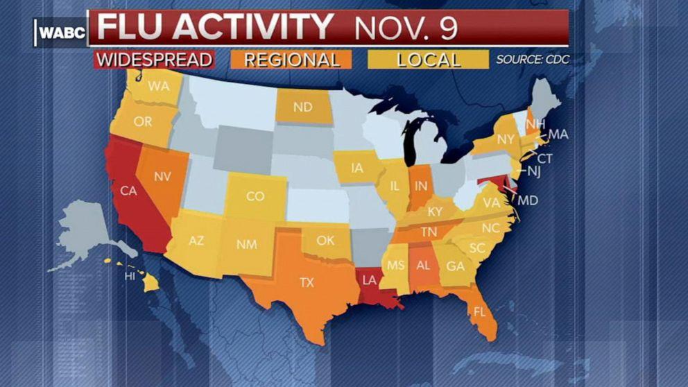 CDC warns of early flu spike