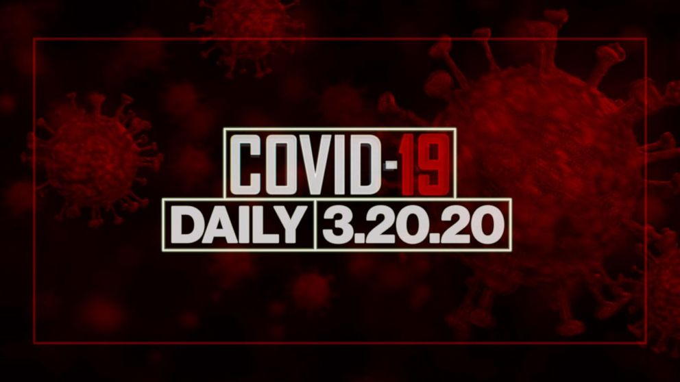 ΡΟΛΌΙ: Coronavirus καθημερινή ενημέρωση: 20 Μαρτίου του 2020