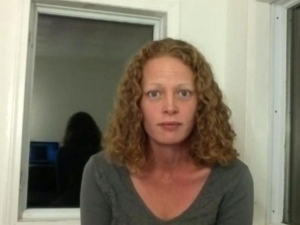 PHOTO: Kaci Hickox is seen in a Skype interview from her home in Fort Kent, Maine, Oct. 29, 2014.