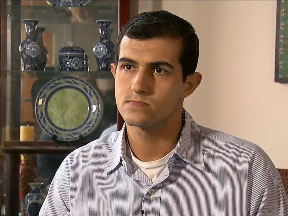 PHOTO: Yousef Abu-Salha, brother of the sisters killed near the University of North Carolina, speaks about their deaths.