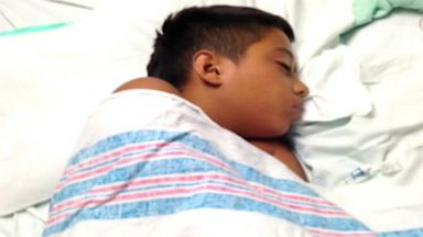 PHOTO: Zachary Reyna infected with deadly brain-eating parasite