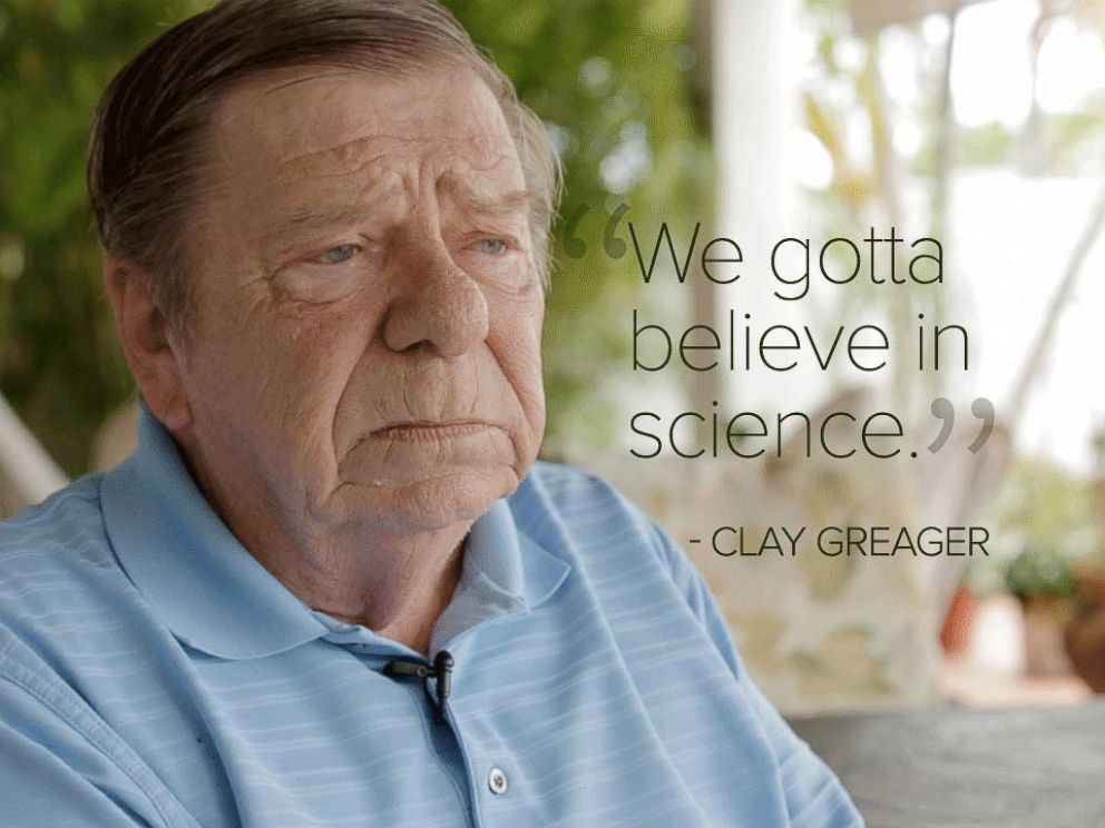 PHOTO: Clay Greager has lived in Key Haven for 38 years.