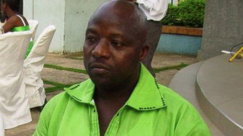 Thomas Eric Duncan, seen here in this 2011 file photo, was the first patient diagnosed with Ebola in the U.S.