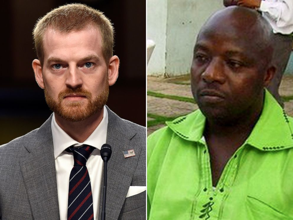PHOTO: Ebola survivor Dr. Kent Brantly, left, and the first U.S. victim of Ebola, Thomas Eric Duncan.