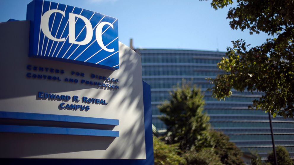 A sign marks the entrance to the federal Centers for Disease Control and Prevention in Atlanta, Oct. 8, 2013.