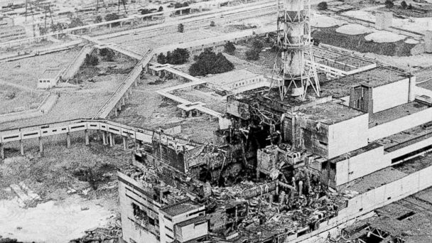 PHOTO: The Chernobyl nuclear power plant