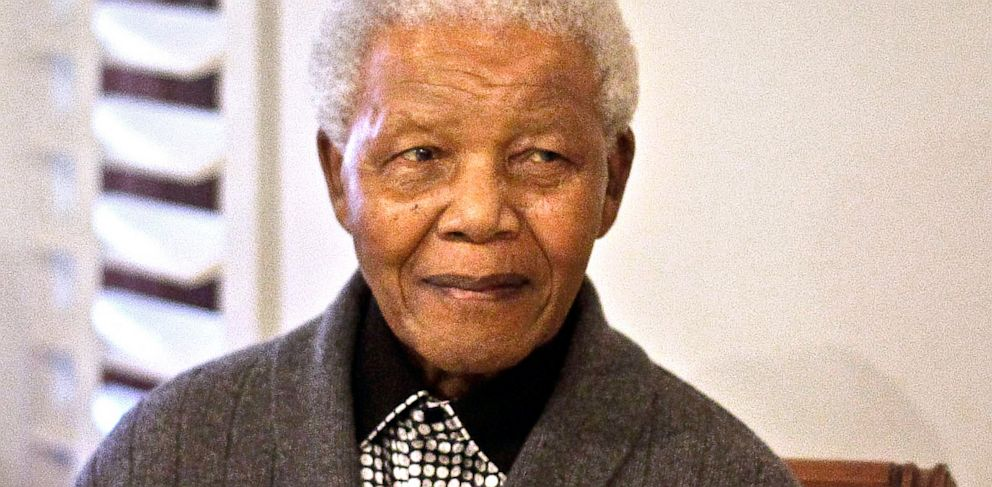 PHOTO: former South African President Nelson Mandela