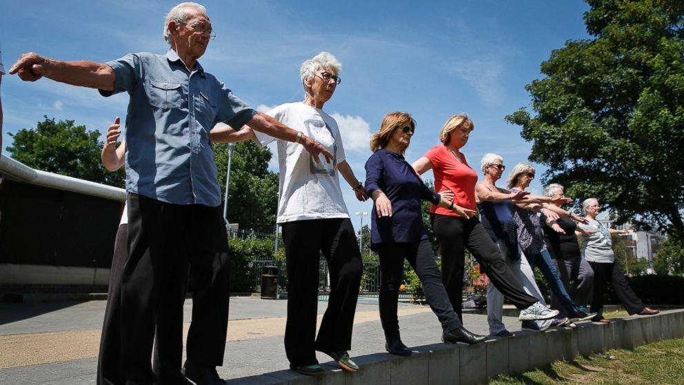 Seniors Parkour Takes Fitness Old School Abc News