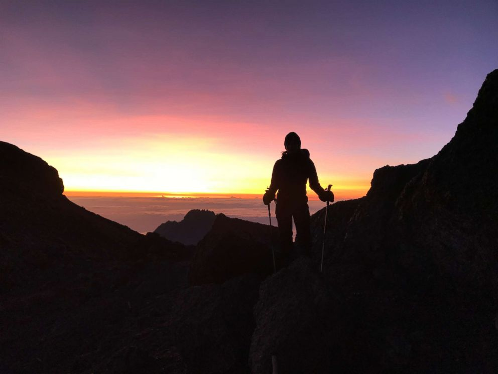 PHOTO: Amy Robach achieved her lifelong goal of summiting Mount Kilimanjaro this year.