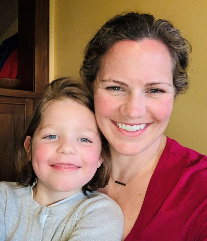 PHOTO: Dr. Meghan Candee of Salt Lake City was stunned when a plastic surgeon charged her insurance company more than $25,000 for a single stitch after daughter Maeve cut her face in a fall.