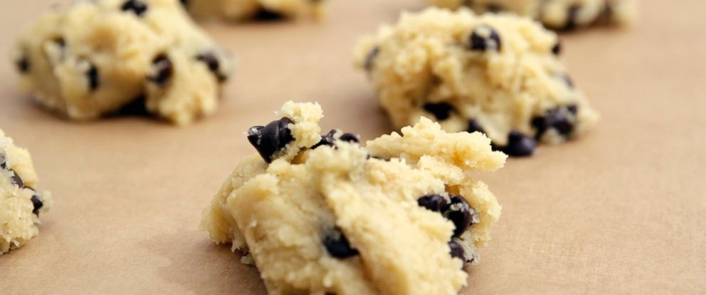 PHOTO: Close up of chocolate chip cookie dough in this undated photo.