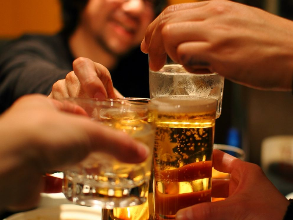 Getty Images  Flickr RFFriends drink whiskey and beer in this stock