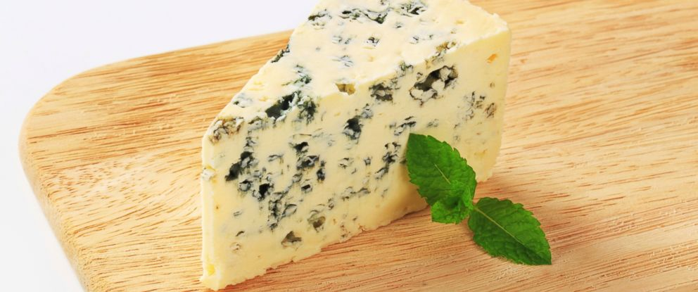 PHOTO:A wedge of blue cheese is seen in this undated file photo.