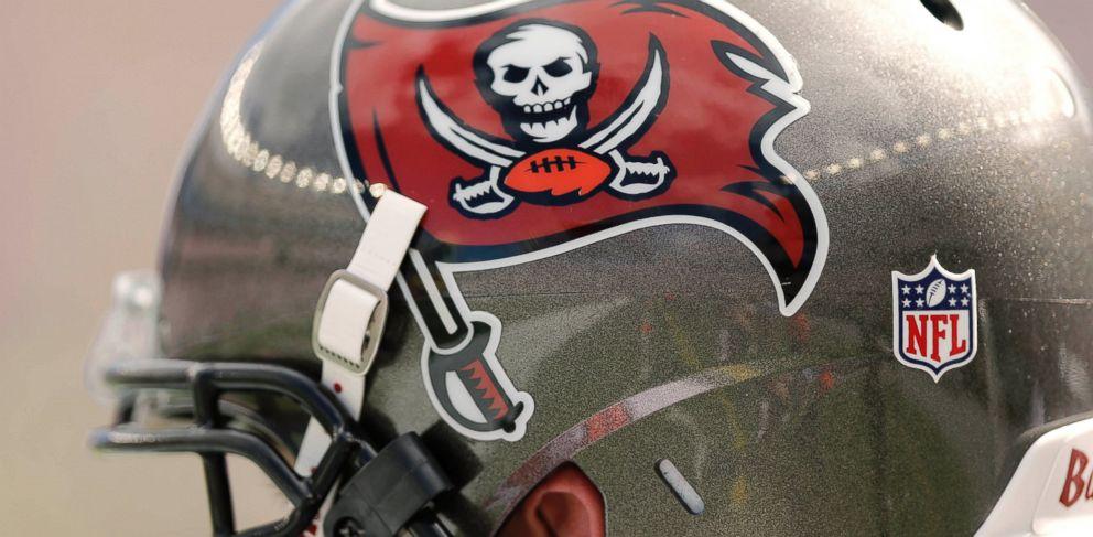 PHOTO: A Tampa Bay Buccaneers helmet