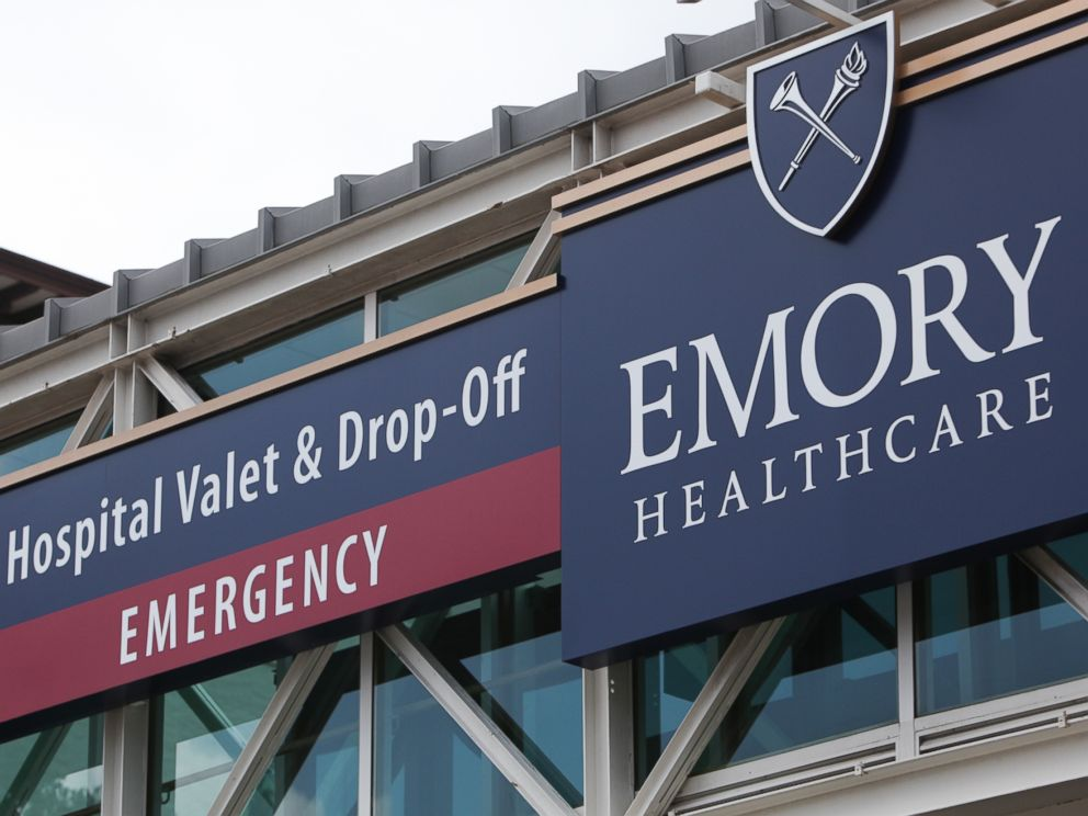 PHOTO: Emory University Hospital is seen on Aug. 1, 2014 in Atlanta, Ga.