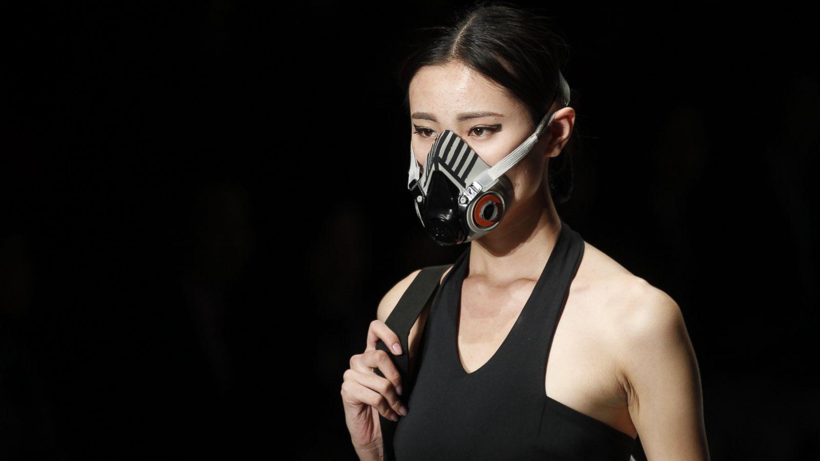 International china fashion week smog mask best photo