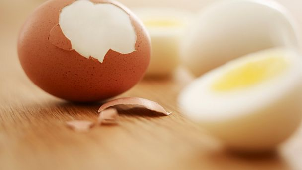 PHOTO: Hard-boiled eggs are seen here.