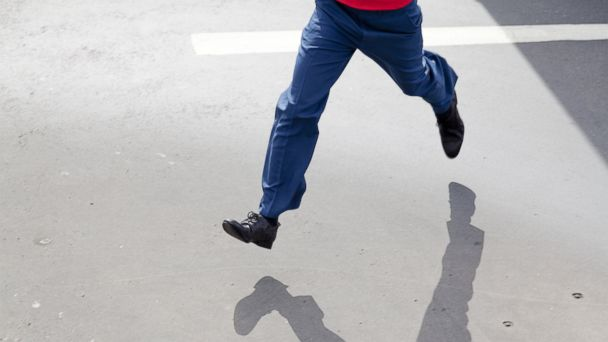 PHOTO: In this stock image, a man is pictured running.