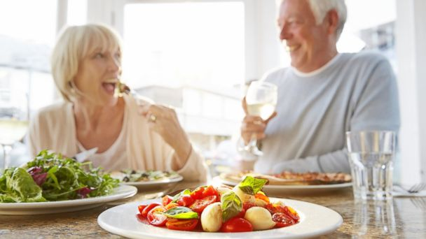 5 easy ways to keep your heart healthy abc news photo in this stock image a couple is pictured eating healthier food options getty images shield your heart forumfinder Image collections