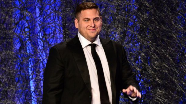 PHOTO: Actor Jonah Hill speaks onstage during the 16th Costume Designers Guild Awards at The Beverly Hilton Hotel on Feb. 22, 2014 in Beverly Hills, Calif.