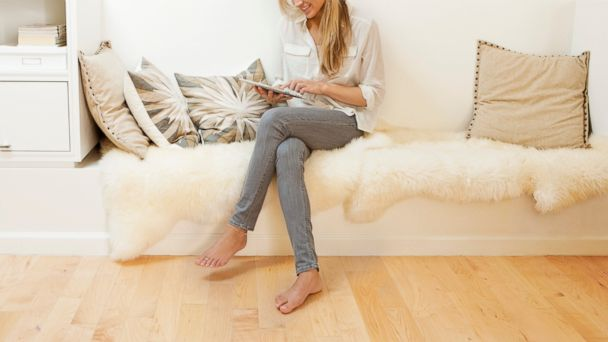 PHOTO: In this stock photo, a woman is pictured crossing her legs.