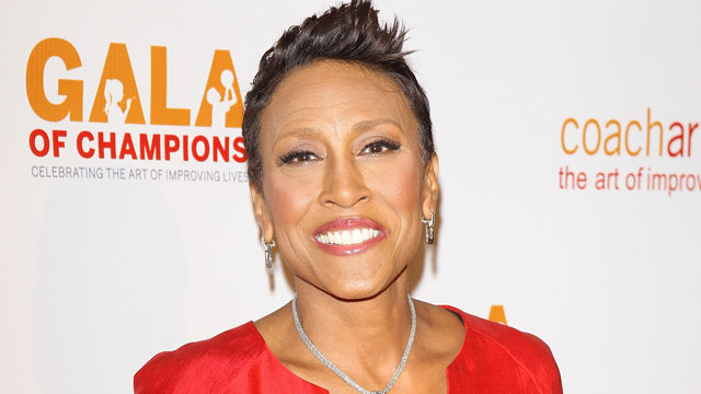 PHOTO: Robin Roberts arrives at the CoachArt Gala of Champions, Oct. 17, 2013, in Beverly Hills, Calif.