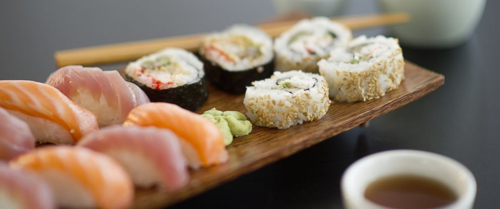 PHOTO: Sushi is pictured in this stock image.