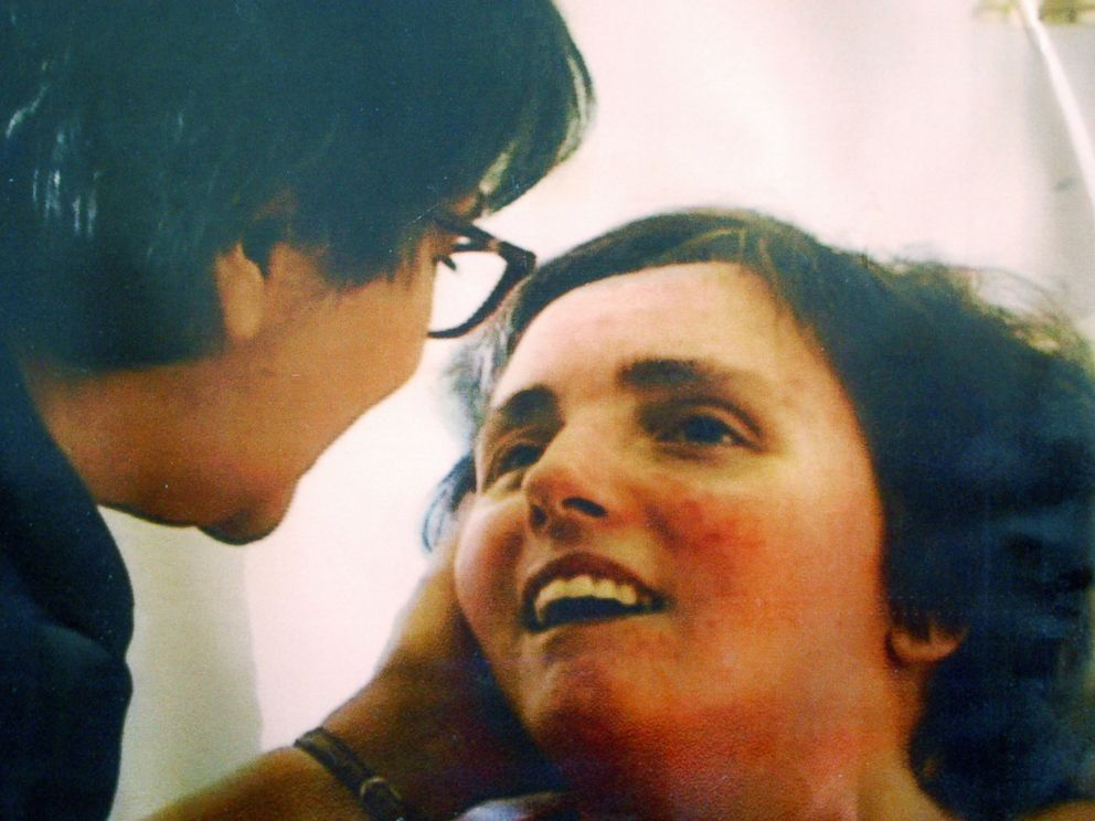 PHOTO: A handout photo shows Terri Schiavo and her mother taken at Terris hospital bed in 2003