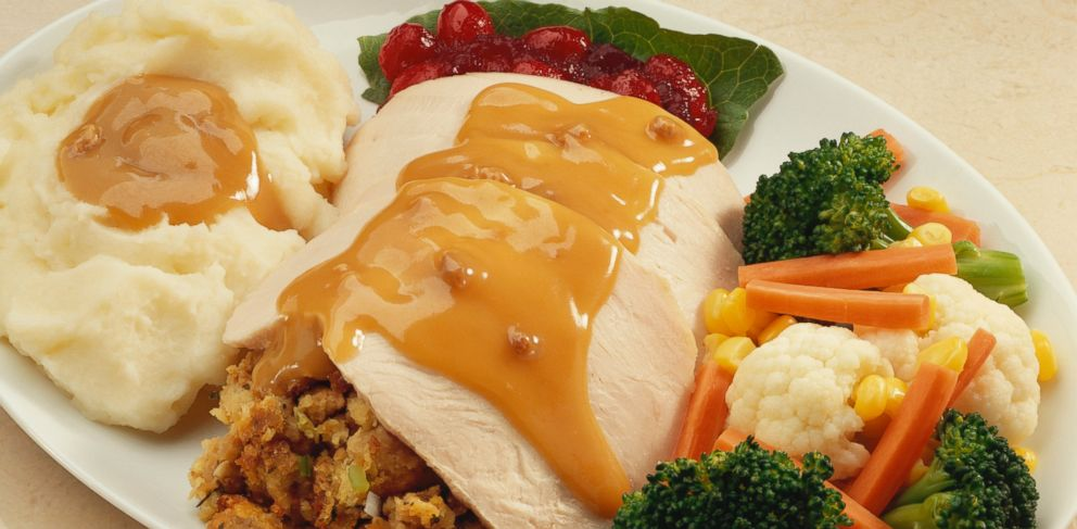 The average thanksgiving meal averages a shocking 4,500 calories.