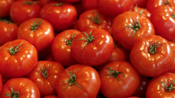 PHOTO: Tomatoes might be the reason youre having trouble falling asleep.