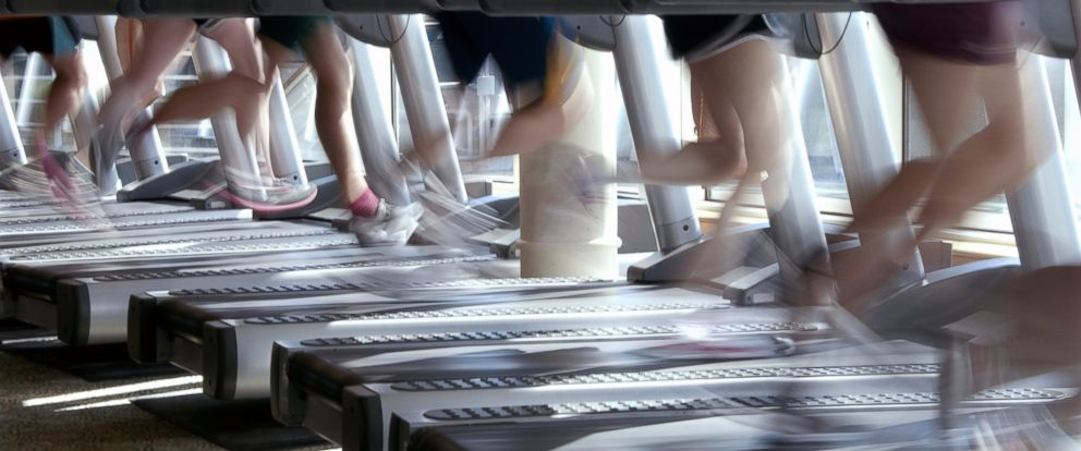 PHOTO: Studies show running on a treadmill is roughly equivalent to running outdoors -- with a few slight differences.