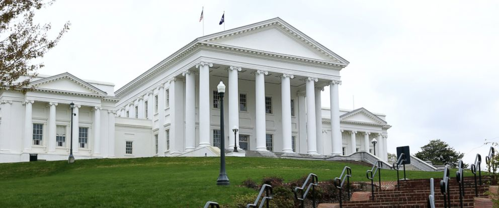 PHOTO: The Virginia State Capitol is seen here in this undated file photo.