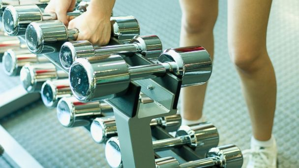 PHOTO: Lifting weights can add value to your exercise routine that cardio alone doesnt provide.