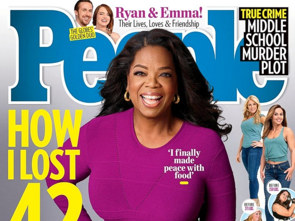 PHOTO: People magazine features the weight loss stories of Oprah Winfrey and everyday Americans in its latest issue.