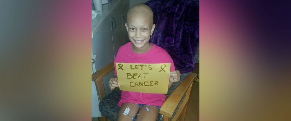 PHOTO: Eden Green was diagnosed with a rare cancer at age 10.