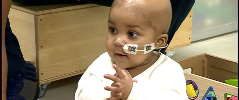 PHOTO: Infant got breakthrough cancer treatment that used cells edited on a genetic level to fight her leukemia.