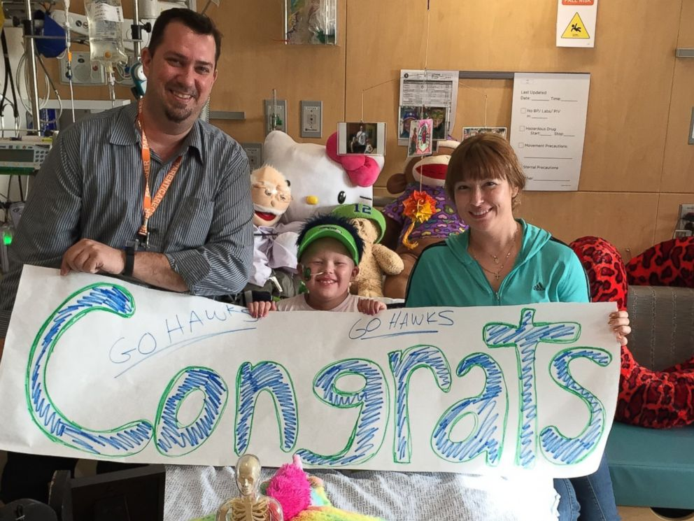 Seattle Children's Hospital Patients Congratulate the ...