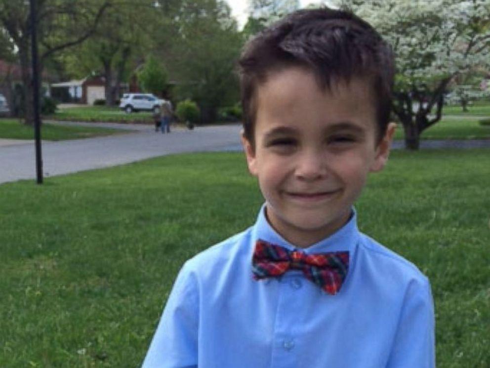 PHOTO: Lessya Kotelevskayas son, Erik, on his 7th birthday, his first in the U.S
