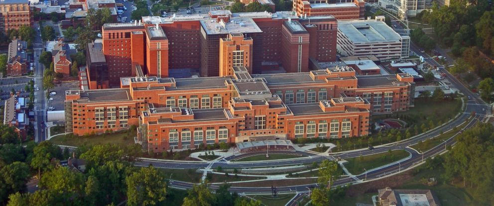 PHOTO: The Special Clinical Studies Unit of the NIH Clinical Center in Bethesda, Maryland.