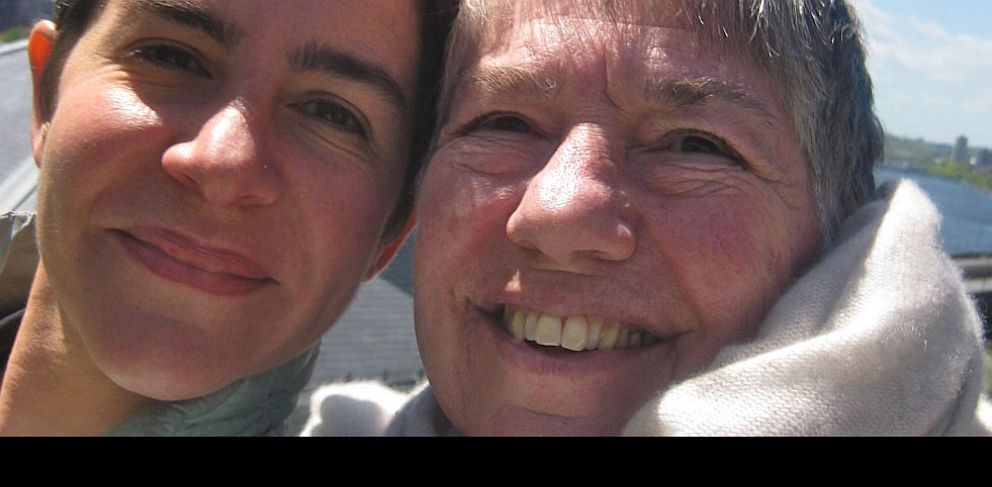 PHOTO: Sarah Durham, 43, and her mother Magi Durham Ziff, smile for the camera in Boston before Ziffs death in 2011. Both have genetic mutations that make them more prone to certain cancers.