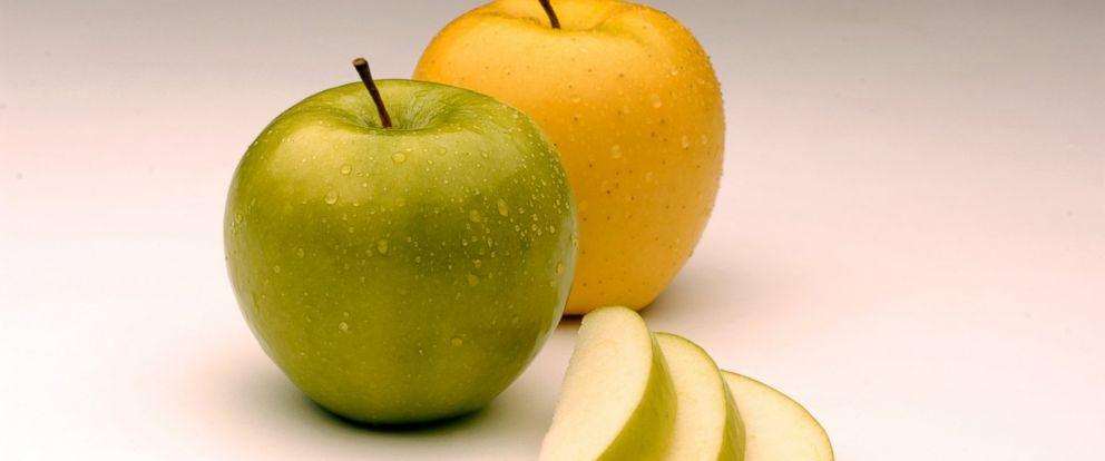 PHOTO: Arctic Granny and Arctic Golden apples are seen here.